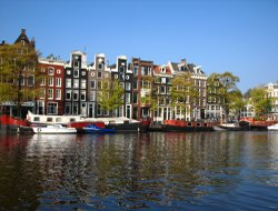 Attractions in Amsterdam: canals
