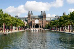Attractions in Amsterdam: Rijksmuseum