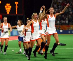 Dutch women hockey team