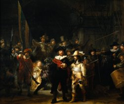 Night Watch by Rembrandt, Rijksmuseum