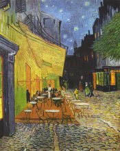 Cafe Terrace, by Van Gogh