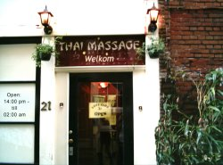 Thai massage parlour 'Love Club 21', Amsterdam