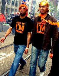 Queens Day in Amsterdam