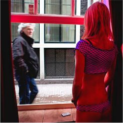 window prostitution in Amsterdam