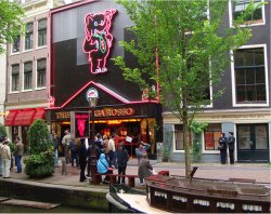 Casa Rosso, Amsterdam Red Light District