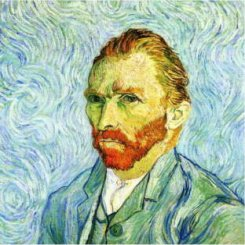 Another self portrait of Vincent van Gogh