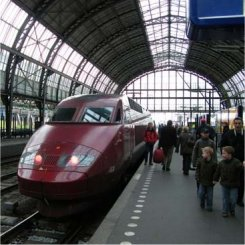 amsterdam centraal, thalys