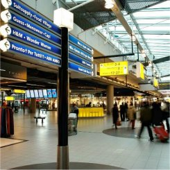 Amsterdam airport, Schiphol plaza