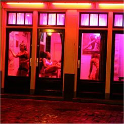 Prostitutes in the Red Light District