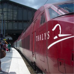 thalys at amsterdam centraal