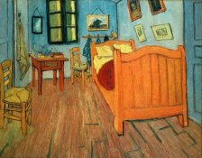 The Bedroom in Arles by van Gogh